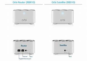 Netgear Orbi Whole Home Ac1200 3pcs Pack Mesh Wifi System