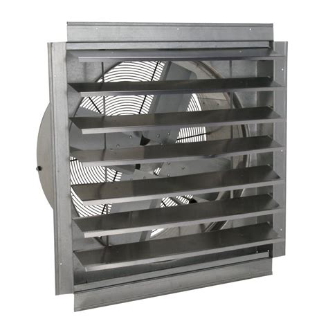 Home Depot Floor Vent Fan by Ventamatic 24 In 4100 Cfm Wall Mount Industrial Exhaust