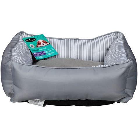 chion breed snuggle pet bed for small to medium dogs