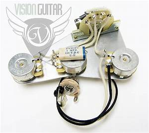 Late 50 U0026 39 S Pre-wired Strat Upgrade Wiring Kit
