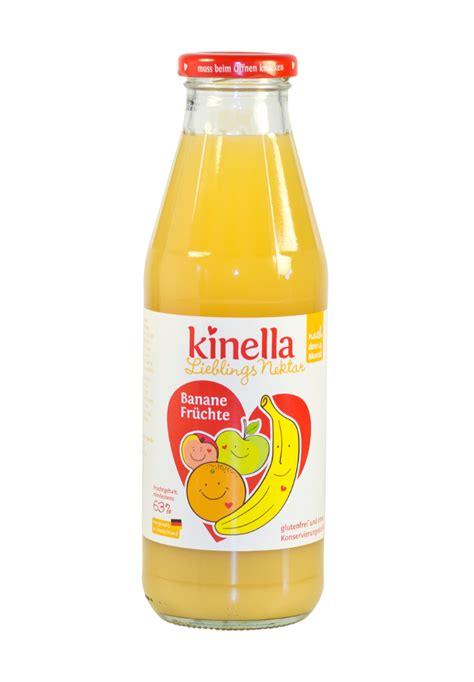 Kinella Banānu un augļu nektārs, bērniem no 4 mēn., 500ml ...
