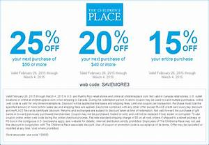 Place Des Tendances Code Promo : the childrens place coupons 20 30 off at the childrens ~ Dailycaller-alerts.com Idées de Décoration