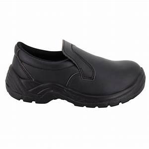 Chaussure De Securite Cuisine : chaussure de cuisine noire forme mocassin de s curit ~ Melissatoandfro.com Idées de Décoration
