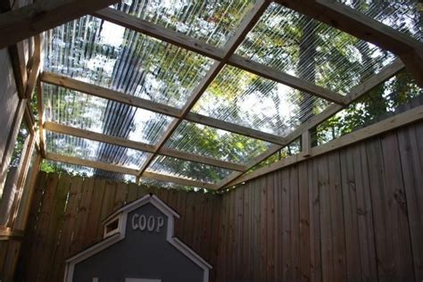 clear corrugated plastic sheets for roofing outdoor
