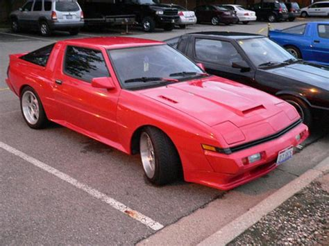 Mitsubishi Starion Turbo by Mitsubishi Starion Turbo Wide 2 6 1987 1989