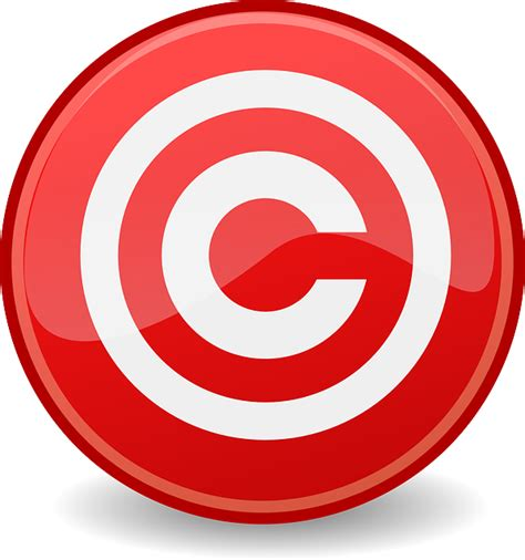 vector graphic copyright copyrighted icon