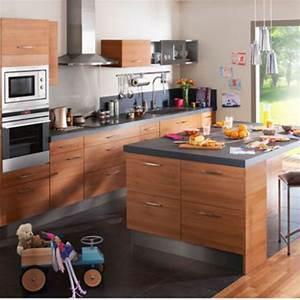 Cuisine Intégrée Pas Chère : agrandir la cuisine en bois se fait with cuisine incorporee pas chere ~ Farleysfitness.com Idées de Décoration