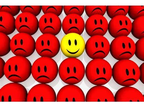 yellow happy smiley  red unhappy smileys stock photo