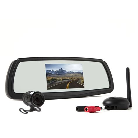 rear view rear view safety wireless backup system 4 3