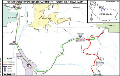pierce county wa official website trail maps