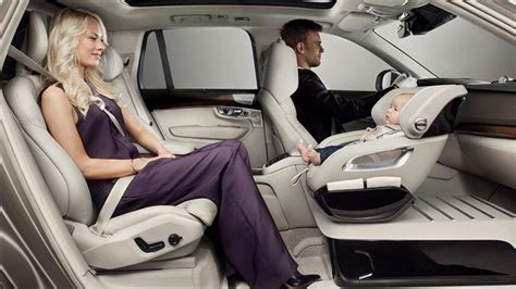 siege auto orbit baby volvo 39 s concept puts child car seat in front seat