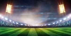 Stadium floodlights wallpaper wall decor