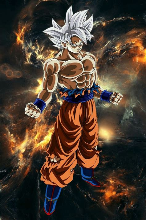 goku mastered ultra instinct personajes de dragon ball