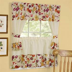 Country Style Kitchen Curtains Kitchen Clipgoo
