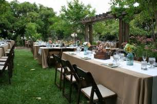 budget wedding ideas backyard wedding ideas on a budget