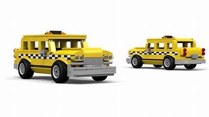Lego Taxi Cab Checker Instructions