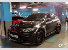 迪拜街拍670马力Hamann改装BMW X6_车致_新浪网