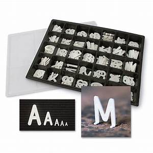 helvetica message boards changeable letters With box to store letters
