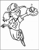 Coloring Sports Pages Printable sketch template