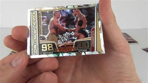 slam attax superstars wwe trading cards binder review