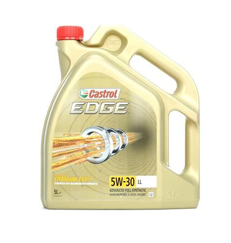 castrol 15669e edge motoröl titanium fst 5w 30 ll 5l 211 leo do motor castrol ll edge titanium fst 5w 30 5l 211 leo sint 233 tico item 15669b compre agora