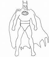 Batman Drawing Draw Coloring Printable Cartoon Tutorial sketch template