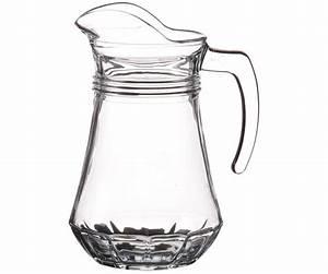 Carafe En Verre : carafe a eau pichet bec verseur style bistrot en verre 1l ~ Teatrodelosmanantiales.com Idées de Décoration