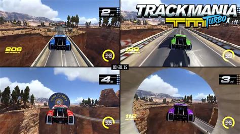 trackmania turbo multiplayer trailer  drivers
