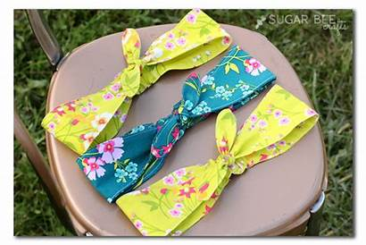 Fabric Headband Sewing Easy Projects Knotted Crafts