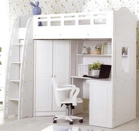 ikea loft bed with desk and closet 1000 ideas about loft bed desk on city