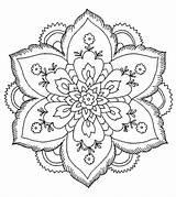 Coloring Abstract Printable Mandala Sheets Adults Pintar Flowers Mandalas Colorear Flores Colouring Imprimir Flower Imagenes Momjunction Flor Descargar Designs Books sketch template
