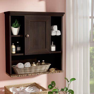 wall mounted bathroom cabinets youll love   wayfair