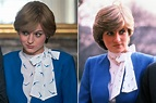 See Princess Diana's Best Looks Replicated by The Crown 's Emma Corrin Side-by-Side | PEOPLE.com