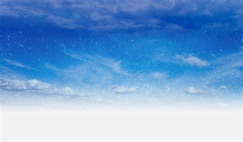 photo snow flurries sky day blue  image