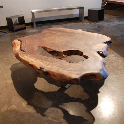 Tisch Aus Dielen by Coffee Table Contemporary Petrified Wood Home Bespoke