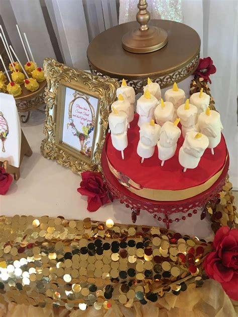 beauty   beast birthday party ideas photo