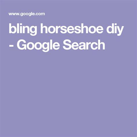 bling horseshoe diy google search  images
