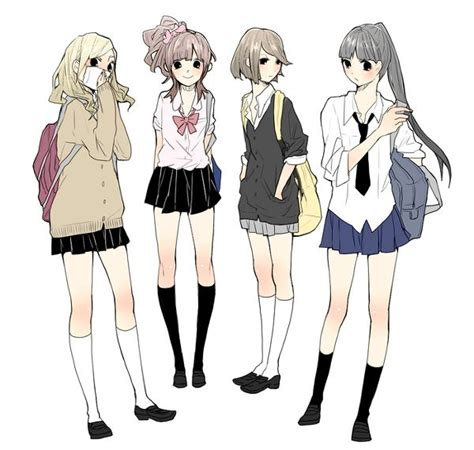 25+ best ideas about Anime uniform on Pinterest | Drawing anime clothes Anime school girl and Manga