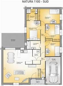 idee relooking cuisine plan maison neuve a construire With plan maison france confort