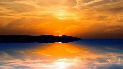 Sunset Orange Wallpapers 1080 Sun 4k Ultra