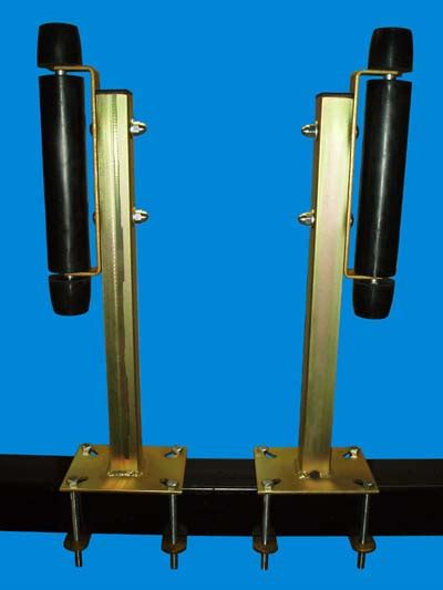 Pontoon Boat Trailer Guide Rollers by Boat Trailer Guides Pontoon Boat Roller Guide Ons Ve