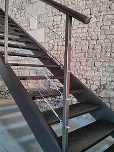 Garde De Corps Escalier : bleuacier menuiserie garde corps escaliers rampes ~ Melissatoandfro.com Idées de Décoration