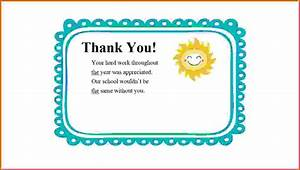 Thank You Note For A Gift From Boss Sample Thank You Notes Template Business