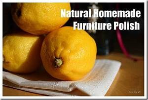 homemade cleaning recipe for furniture polish pledge With homemade organic furniture polish