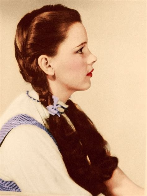 judy garland dorothy s hairstyle wizard of oz