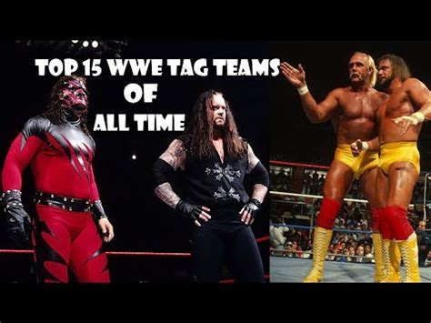 top 15 tag teams of all time 2018