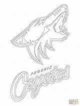 Coloring Coyotes Lnh Ausmalbild Canucks Ovechkin Mercerepc Dentistmitcham Imprimé sketch template