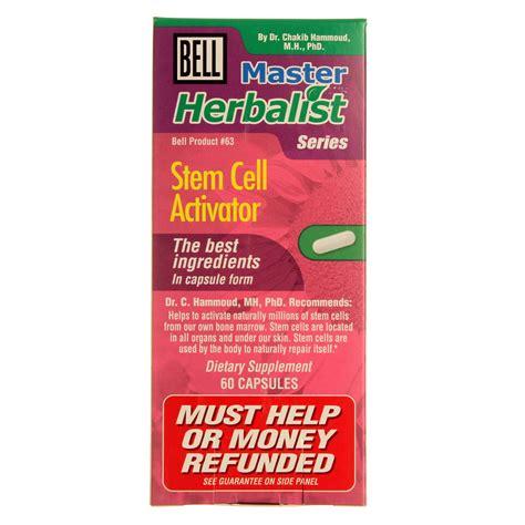 Aqua Bio Stem Cell Activator bell stem cell activator 60 capsules evitamins