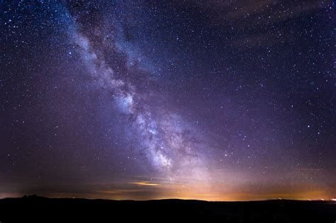 Milky Way Night Sky Free Stock Photo Iso Republic