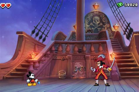 Disney Epic Mickey Power Of Illusion Demo Appears On 3ds